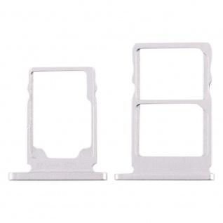 Für Nokia 5.1 TA-1075 Simkarten Halter Card Tray Weiß White SD Card Ersatzteil
