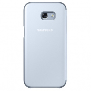 Samsung Neon Flip Cover Hülle EF-FA320PL f Galaxy A3 2017 A320F Schutzhülle Blau - Vorschau 2