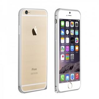 Original LOVE MEI Metall Bumper Silber für Apple iPhone 6 4.7 Schutz Zubehör Neu