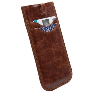 Krusell Schutzhülle für Apple iPhone 5S 5 5C HTC One Wallet Hülle Tumba Tasche - Vorschau 2
