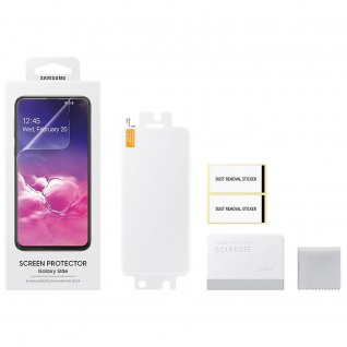 Samsung Pack Displayschutzfolie Folie für Galaxy S10 Plus G973F ET-FG975CTEGWW