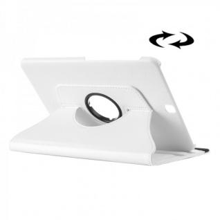 Schutzhülle 360 Grad Weiß Tasche für Samsung Galaxy Tab S2 9.7 T810 T815N Hülle