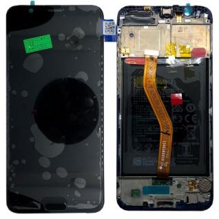 Huawei Display LCD Rahmen für Honor View 10 Service Pack 02351SXC Schwarz Neu