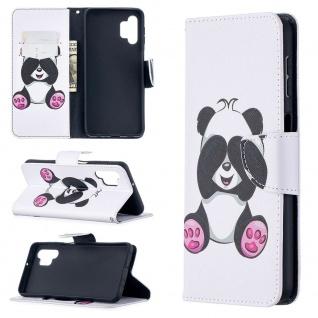 Für Samsung Galaxy A32 5G Kunst-Leder Handy Tasche Motiv 6 Hülle Case Etui Cover