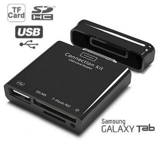6in1 Camera Connector USB Adapter Zubehör für Samsung Galaxy Tab 10.1 10.1N Neu
