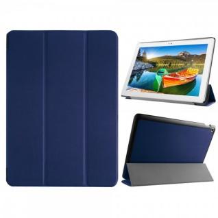 Smartcover Dunkelblau für ASUS ZenPad 10 Z300C CL CG Hülle Case Tasche Etui Neu