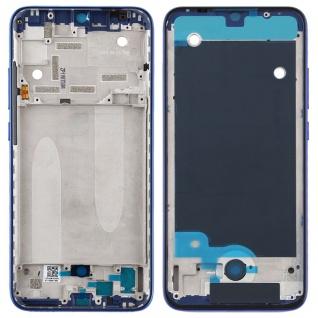 Gehäuse Rahmen Mittelrahmen Deckel für Xiaomi Mi A3 Blau Ersatzteil Neu