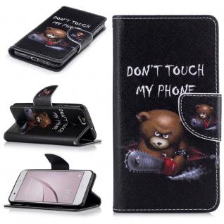 Schutzhülle Muster 75 für Huawei Nova Bookcover Tasche Case Hülle Wallet Etui