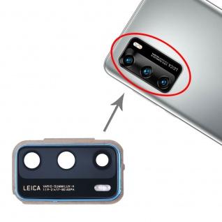 Camera Lens Cover für Huawei P40 Blau Linse Ersatzteil Reparatur Zubehör Ersatz
