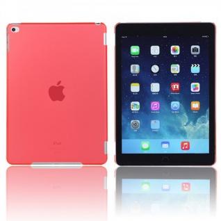Hardcase Glossy Neon Rot für Apple iPad Air 2 2014 Hülle Case Cover Schale Neu