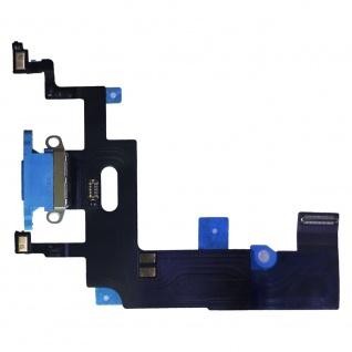 Dock Charger Ladebuchse für Apple iPhone XR 6.1 Blau Ersatz Reparatur Zubehör