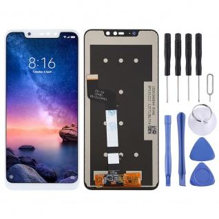 Für Xiaomi Redmi Note 6 Pro Display Full LCD Touch Ersatz Reparatur Weiß Neu