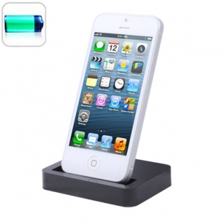 Dock Dockingstation Ladestation Cradle Ladegerät für Apple iPhone 5 Laden Neu