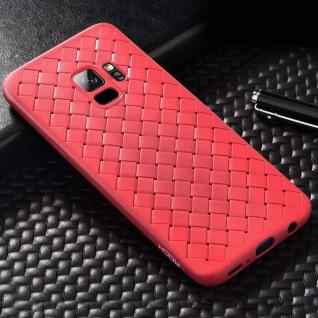 Original ROCK Wave Silikon für Samsung Galaxy S9 Plus G965F Tasche Hülle Rot Neu