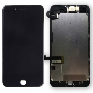 All in One Display LCD Komplett Einheit Touch für Apple iPhone 7 Plus Schwarz