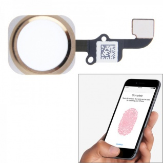 Home Button Finger Abdruck Touch ID Sensor für Apple iPhone 6 Flex Kabel Gold