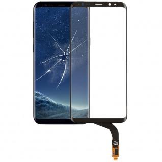 Reparatur Displayglas Touch Screen für Samsung Galaxy S8 Plus G955F LCD Schwarz