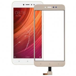 Reparatur Displayglas Touch Screen für Xiaomi Redmi Note 5A LCD Gold Ersatz Neu
