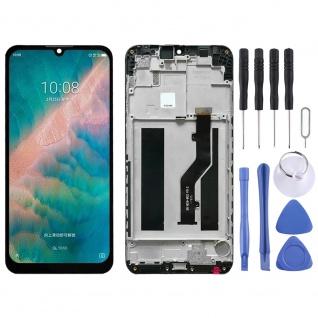 Für ZTE Blade V10 Vita Display LCD mit Rahmen Touch Ersatzteil Reparatur Schwarz