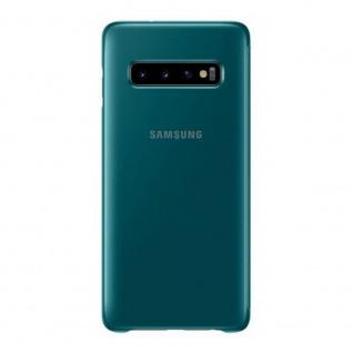 Samsung Flip Tasche Clear View EF-ZG973CGEGWW für Galaxy S10 G973F Cover Grün - Vorschau 3