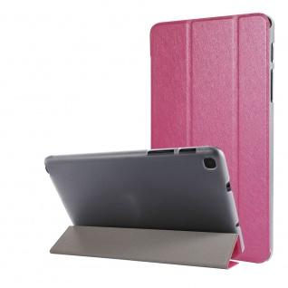 Für Samsung Galaxy Tab A7 Lite 2021 Wake UP Smart Cover Tablet Tasche Pink Etuis