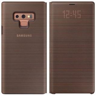 Samsung LED View Cover Tasche EF-NN960PAEGWW für Galaxy Note 9 Hülle Case Braun