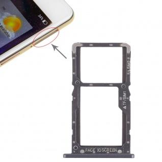 Sim Card Tray für Xiaomi Pocophone F1 Karten Halter Holder Ersatzteil Schwarz
