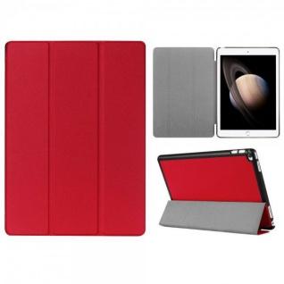 Smartcover Rot Tasche Wake UP Hülle Case für Apple iPad Pro 12.9 Zoll 3. Gen Neu