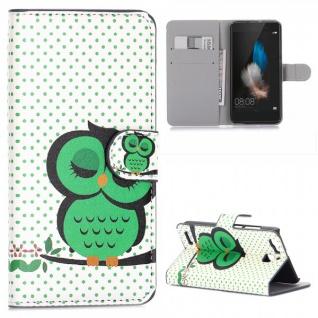 Schutzhülle Muster 33 für Huawei P9 Bookcover Tasche Case Hülle Wallet Etui Neu
