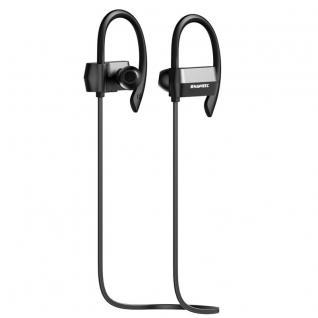 Wireless Bluetooth 4.1 Ohrhörer Kopfhörer In-Ear Sport Headset Nackenband Black