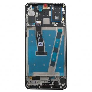 Für Huawei P30 Lite Display Full LCD Touch mit Rahmen Ersatz Reparatur Schwarz - Vorschau 3