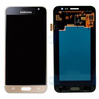 Display LCD Komplettset GH97-18414B Gold für Samsung Galaxy J3 J320F 2016 Neu