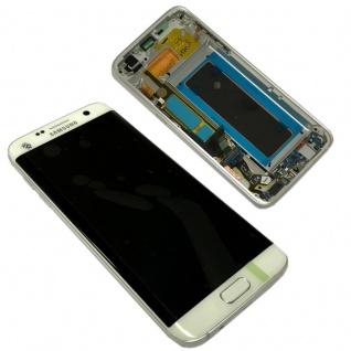 Display Full LCD Komplettset GH97-18533D Weiß für Samsung Galaxy S7 Edge G935F