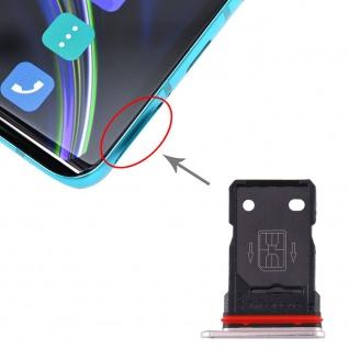 SIM Karten Halter für OnePlus 8 Silber Schlitten Sim Tray Ersatz Reparatur Neu
