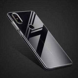 Für Huawei P Smart Plus 2019 Silikoncase TPU Schutz Transparent Tasche Hülle Neu