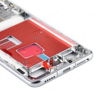 Mittelrahmen für Huawei P40 Silber Middle Frame Rahmen Zubehör Ersatzteil Neu - Vorschau 3