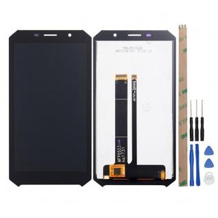 Für Doogee S60 / S60 Lite Display Full LCD Touch ohne Rahmen Reparatur Schwarz