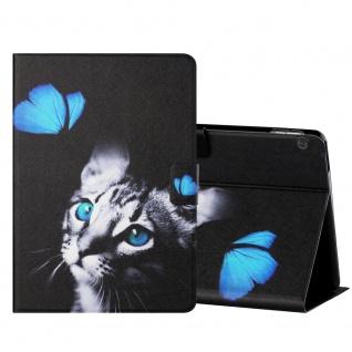 Für Lenovo Tab M10 10.1 Zoll X605F Motiv 3 Tablet Tasche Kunst Leder Hülle Etuis