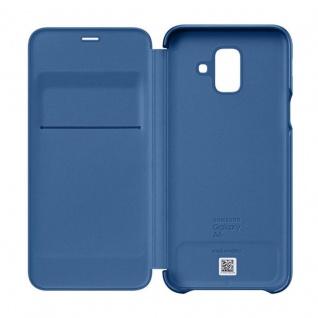Samsung Wallet Cover Hülle EF-WA600CLEGWW Galaxy A6 2018 A600F Schutzhülle Blau - Vorschau 2