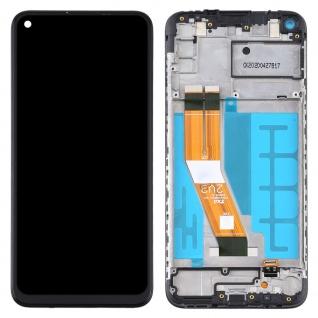 Für Samsung Galaxy A11 A115F Display Full LCD + Rahmen Touch Ersatzteil Schwarz - Vorschau 2