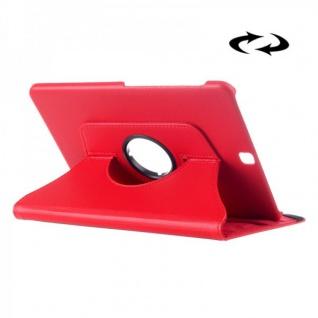 Schutzhülle 360 Grad Rot Tasche für Samsung Galaxy Tab S2 9.7 T810 T815N Hülle