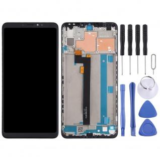 Für Xiaomi Mi MAX 3 Display Full LCD Touch Einheit mit Rahmen Reparatur Schwarz - Vorschau 2