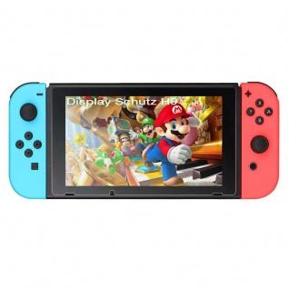 Premium H9 Panzerfolie Schock Folie für Nintendo Switch Hülle Display Schutz TOP