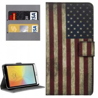Schutzhülle Muster 10 für Bello 2 II Bookcover Tasche Hülle Wallet Book Case