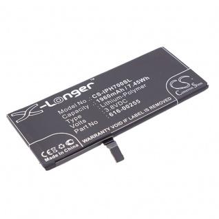 Akku Batterie Battery für Apple iPhone 7 4.7 ersetzt 616-00255 Ersatzakku Accu