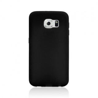 Design Cover mit Frontabdeckung Schwarz für Samsung Galaxy S6 G920 G920F Tasche - Vorschau 4