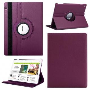 Für Apple iPad Pro 11.0 Zoll 2018 Lila 360 Grad Hülle Etui Tasche Kunstleder Neu