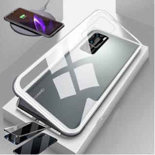 Magnet / Glas Case Bumper Cover Tasche Case Hülle Zubehör für Smartphones Neu