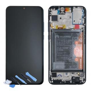 Huawei Display LCD Rahmen für P Smart 2019 Service 02352JEY Schwarz Batterie Neu