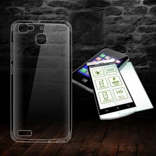 Silikoncase Transparent Tasche + 0, 3 H9 Panzerglas für Huawei P9 Hülle Case Neu